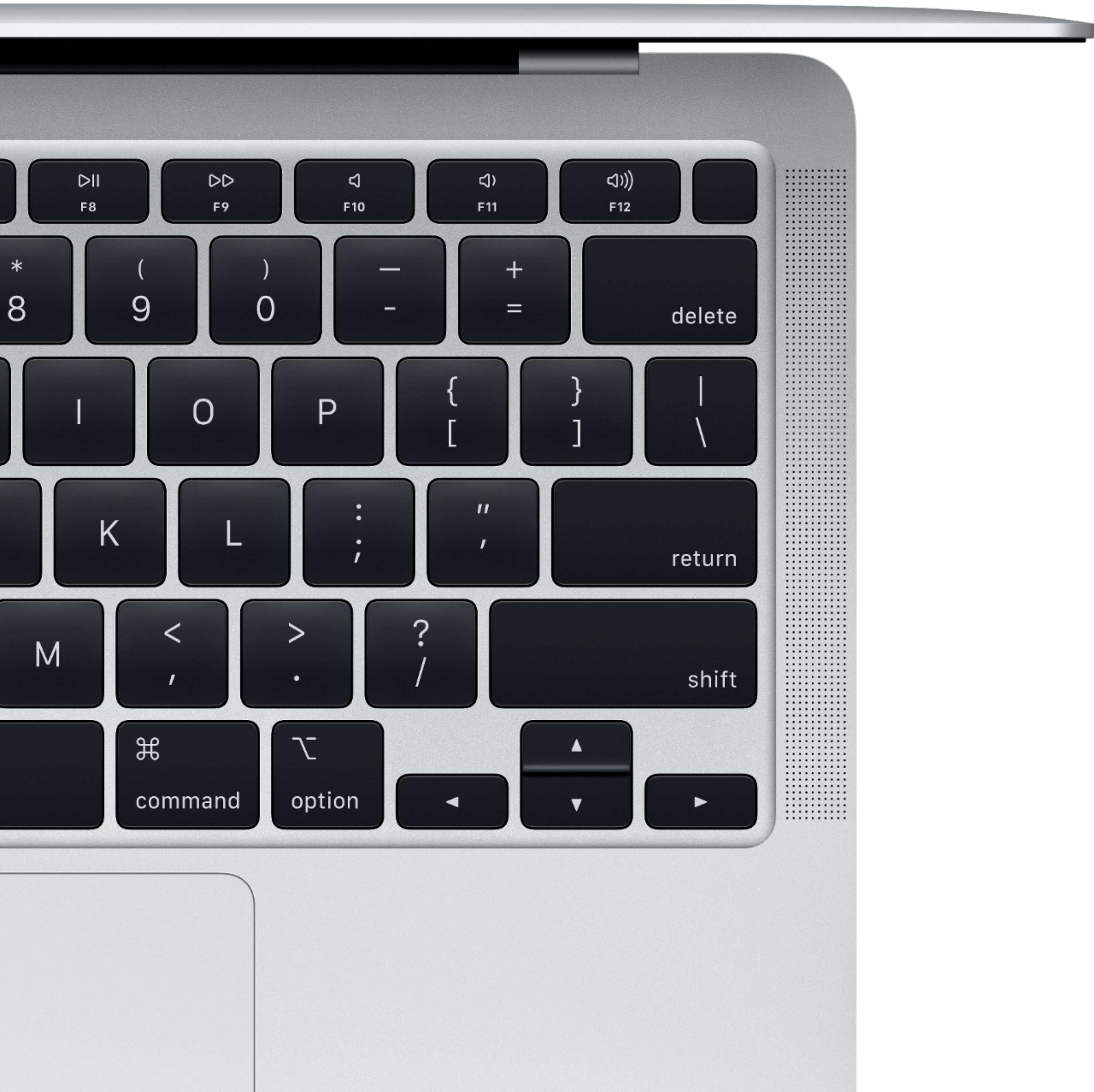 """Alt View Zoom 12. Apple - MacBook Air 13.3"""" Laptop with Touch ID - Intel Core i3 - 8GB Memory - 256GB Solid State Drive - Silver."""