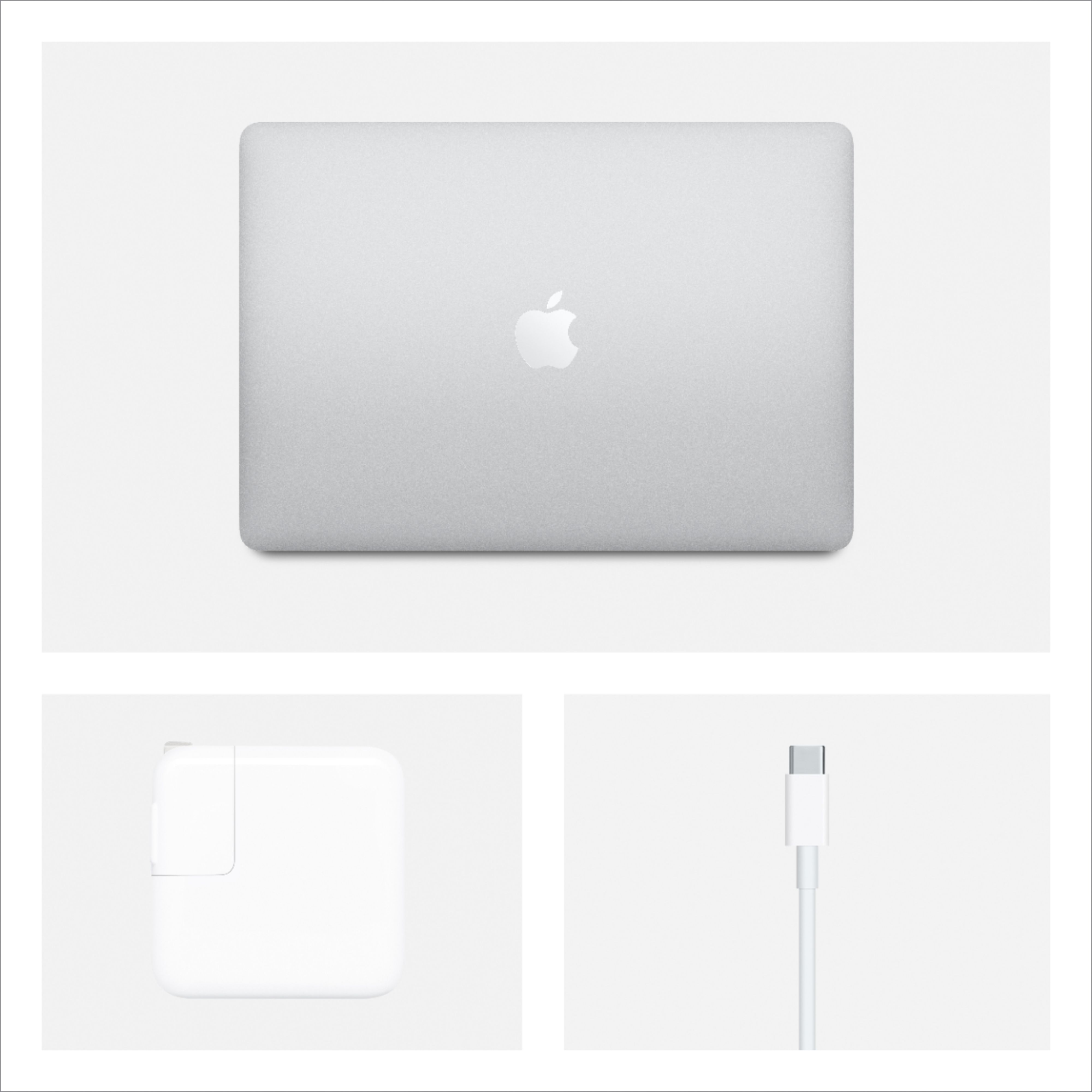 """Alt View Zoom 15. Apple - MacBook Air 13.3"""" Laptop with Touch ID - Intel Core i3 - 8GB Memory - 256GB Solid State Drive - Silver."""