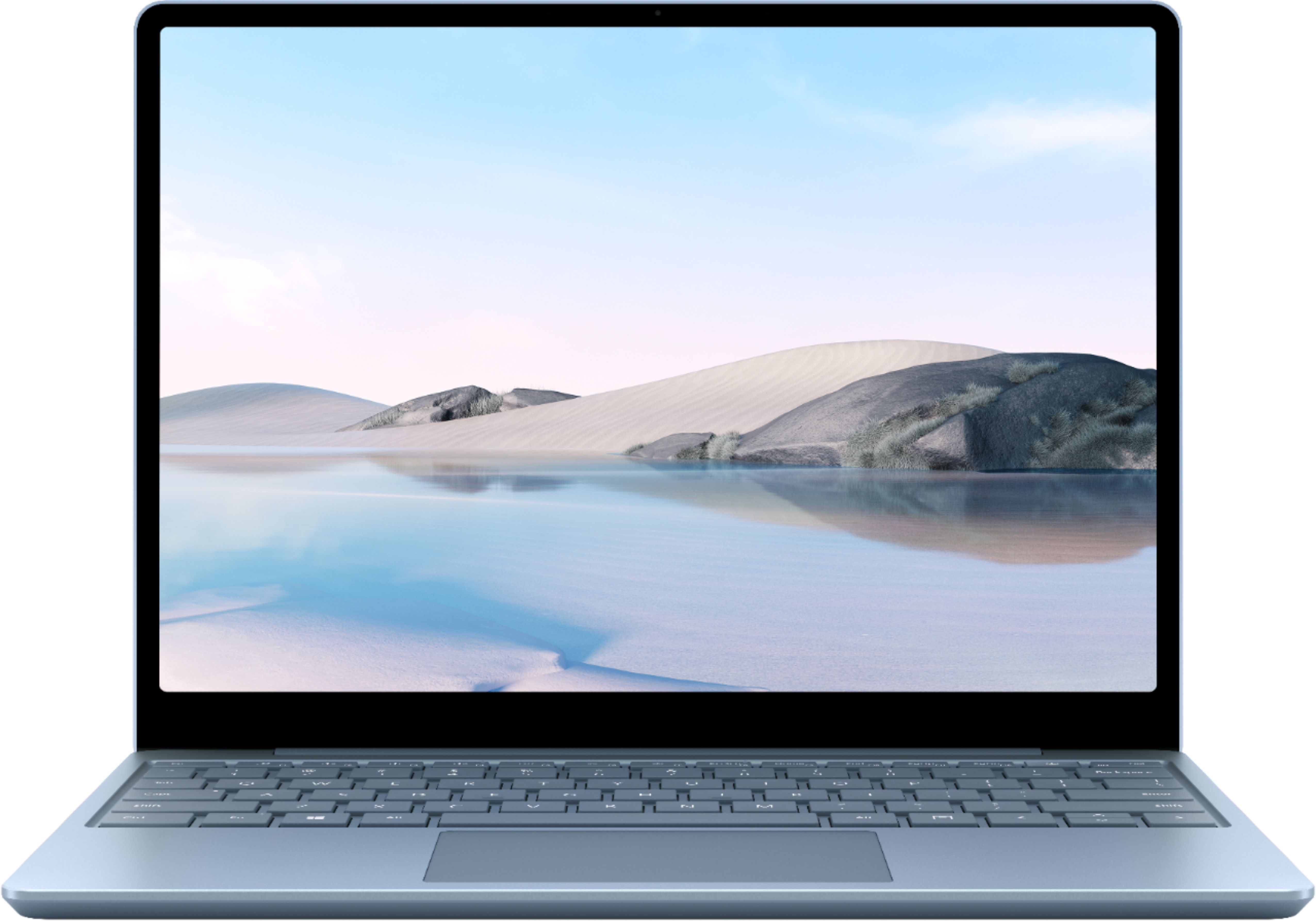 """Alt View Zoom 11. Microsoft - Surface Laptop Go - 12.4"""" Touch-Screen - Intel 10th Generation Core i5 - 8GB Memory - 256GB Solid State Drive - Ice Blue."""