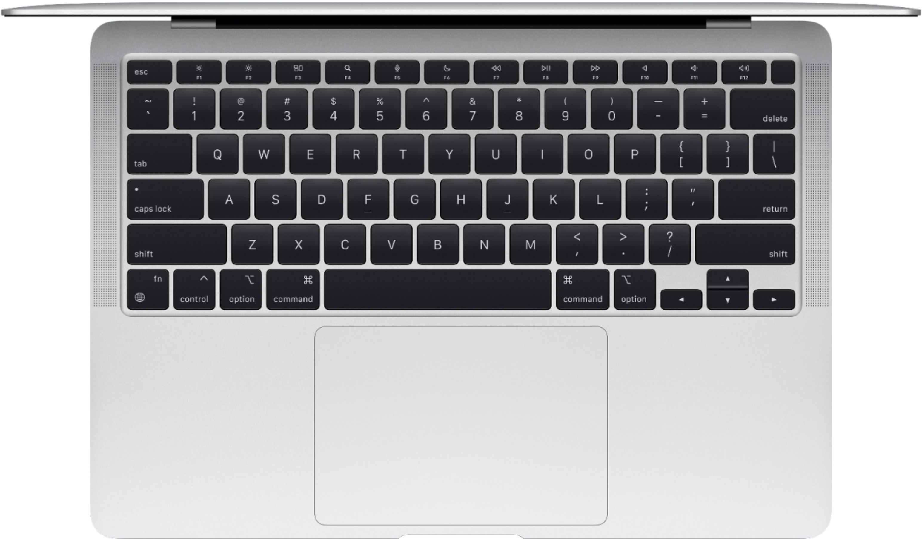 """Alt View Zoom 11. MacBook Air 13.3"""" Laptop - Apple M1 chip - 8GB Memory - 256GB SSD (Latest Model) - Silver."""