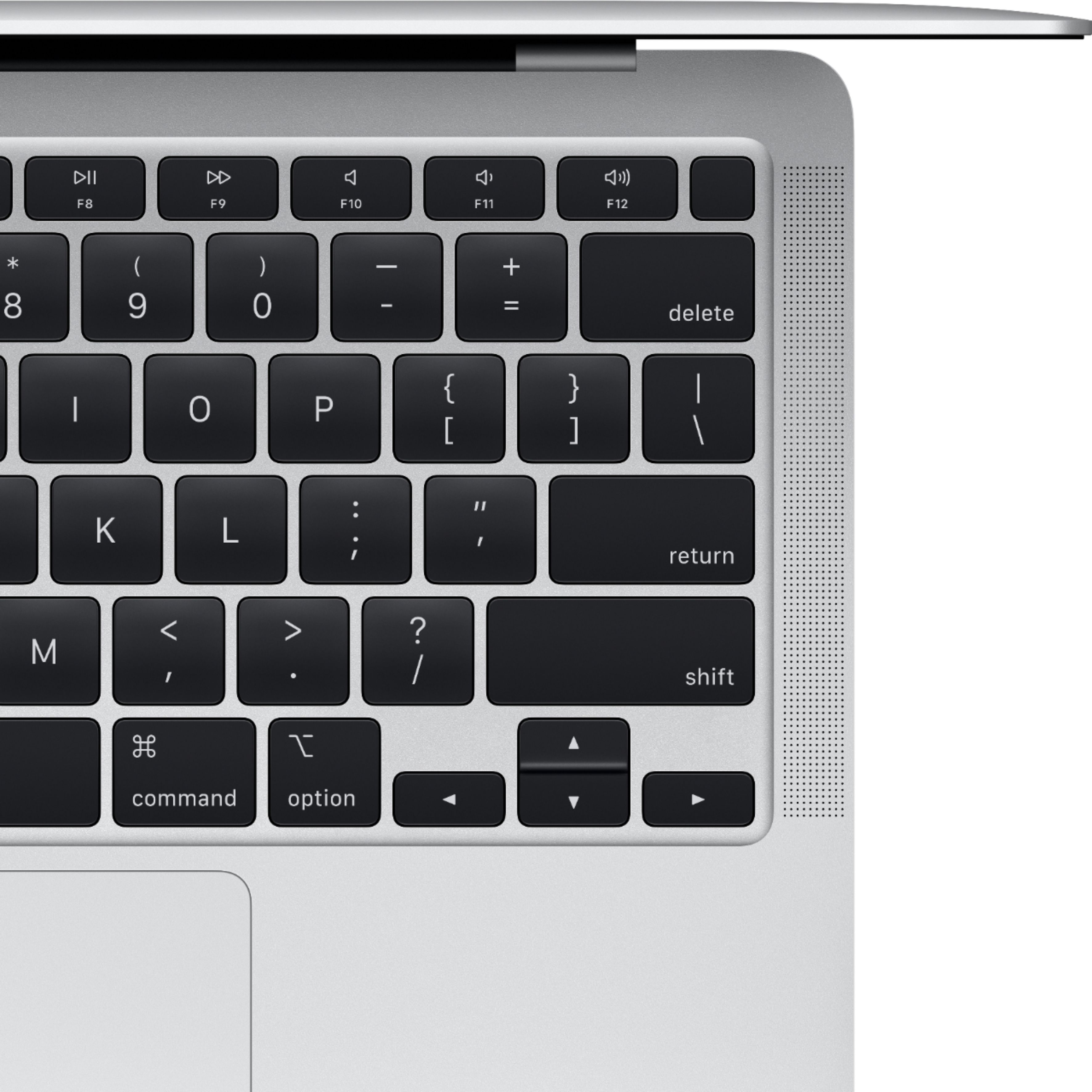 """Alt View Zoom 12. MacBook Air 13.3"""" Laptop - Apple M1 chip - 8GB Memory - 256GB SSD (Latest Model) - Silver."""