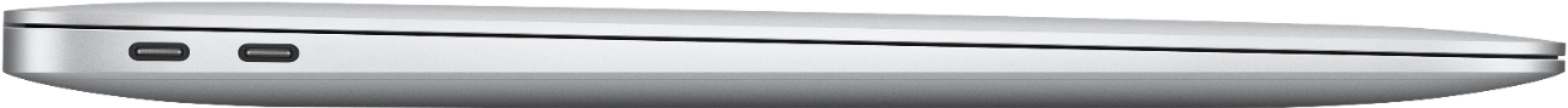 """Alt View Zoom 14. MacBook Air 13.3"""" Laptop - Apple M1 chip - 8GB Memory - 256GB SSD (Latest Model) - Silver."""