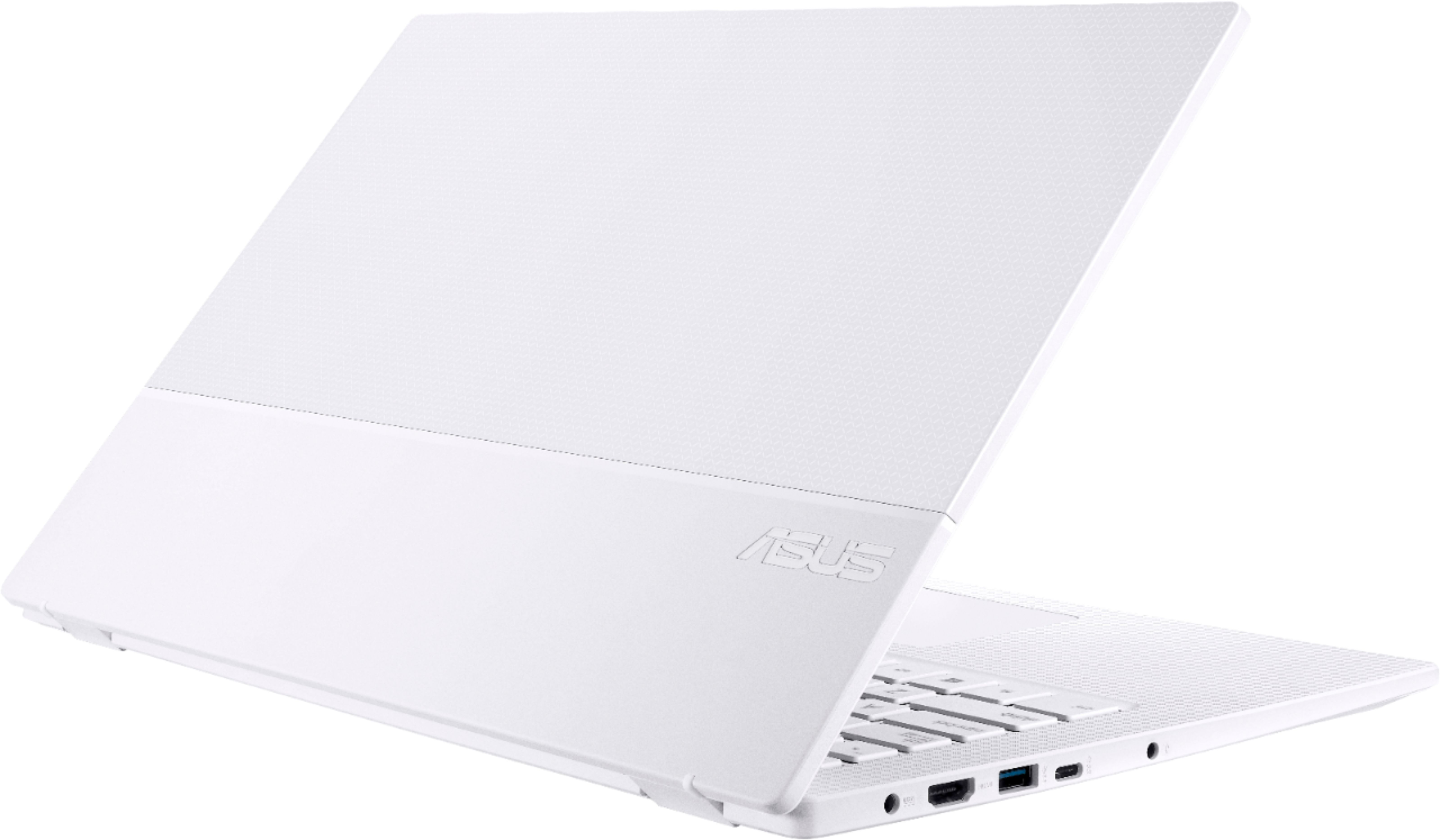 """Alt View Zoom 11. ASUS - Geek Squad Certified Refurbished ImagineBook 14"""" Laptop - Intel Core m3 - 4GB Memory - 128GB Solid State Drive - Textured White."""