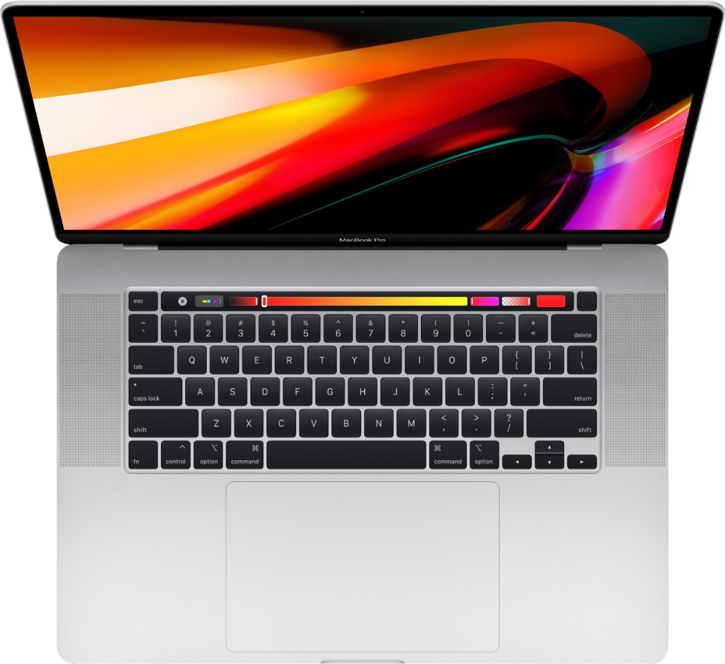 """Alt View Zoom 11. Apple - MacBook Pro - 16"""" Display with Touch Bar - Intel Core i7 - 16GB Memory - AMD Radeon Pro 5300M - 512GB SSD (Latest Model) - Silver."""