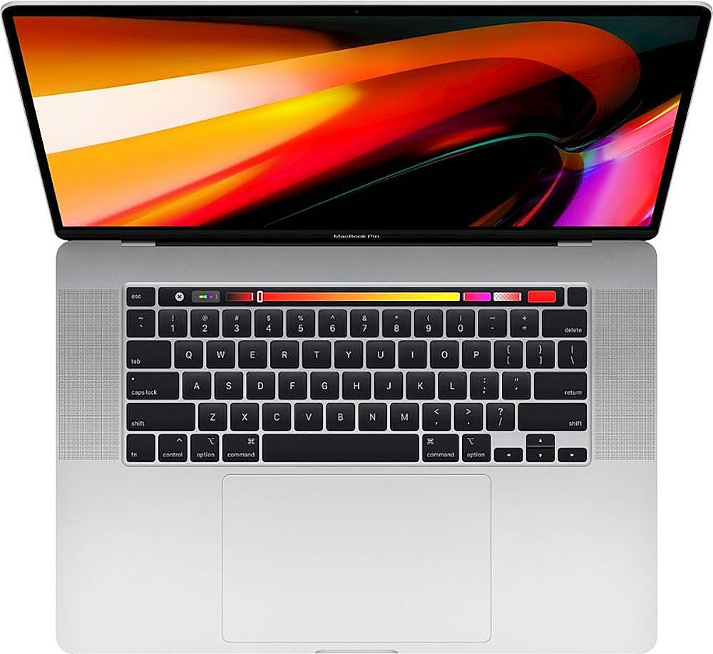 "Alt View Zoom 11. Apple - MacBook Pro 16"" Display with Touch Bar - Intel Core i7 - 64GB Memory - 2TB SSD - Silver."