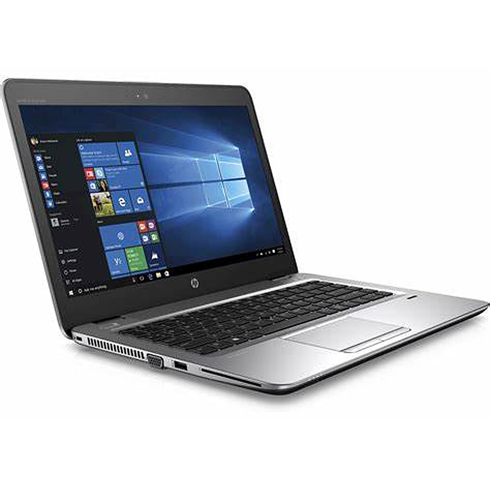 "Left Zoom. HP - EliteBook 14"" Refurbished Business Laptop - Intel i5-7200U - 8GB Memory - 256GB Solid State Drive."