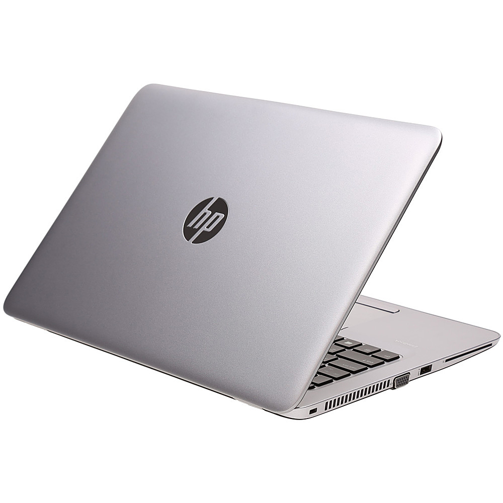 "Angle Zoom. HP - EliteBook 14"" Refurbished Business Laptop - Intel i5-7200U - 8GB Memory - 256GB Solid State Drive."
