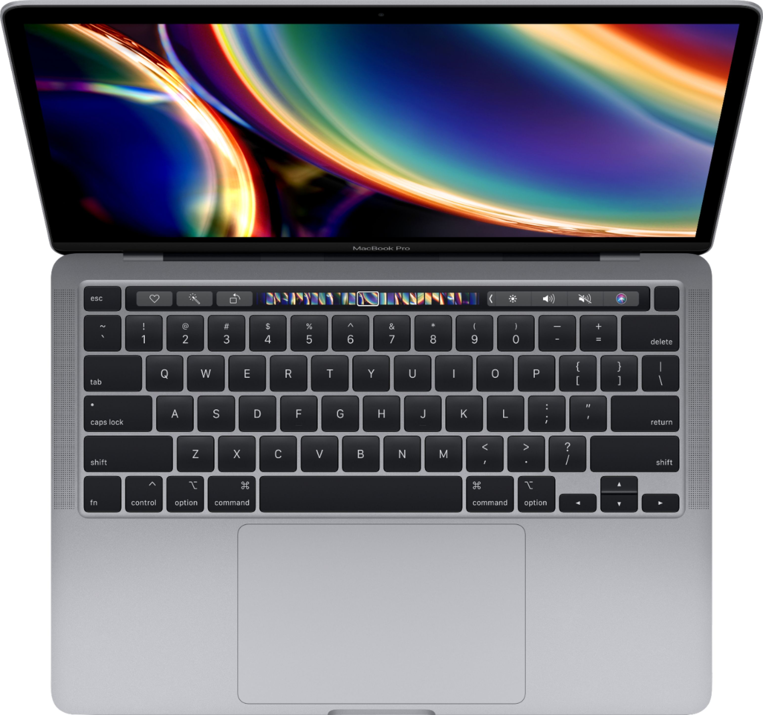 """Alt View Zoom 12. Apple - Geek Squad Certified Refurbished MacBook Pro - 13"""" Display with Touch Bar - Intel Core i5 - 8GB Memory - 256GB SSD - Space Gray."""