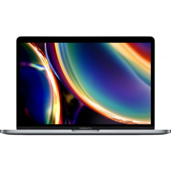"""Apple - Geek Squad Certified Refurbished MacBook Pro - 13"""" Display with Touch Bar - Intel Core i5 - 8GB Memory - 256GB SSD - Space Gray"""